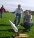 Outdoor rocket launch BB
