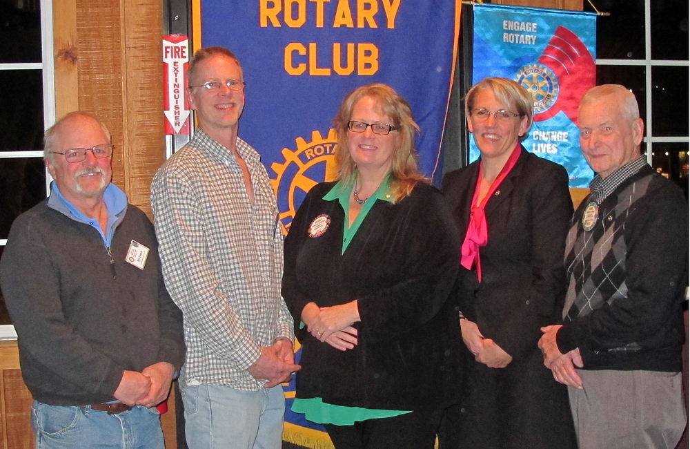 Rotary Induction, Becky Donohue