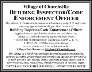 Village of Churchville 3x3
