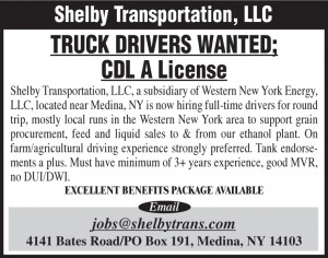 Western New York Energy 3x3 Shelby Truck Driver
