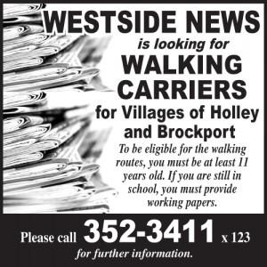 Westside News carriers - Brock-Holley