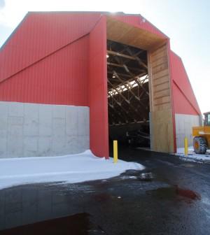 salt shed Hilto-Parma