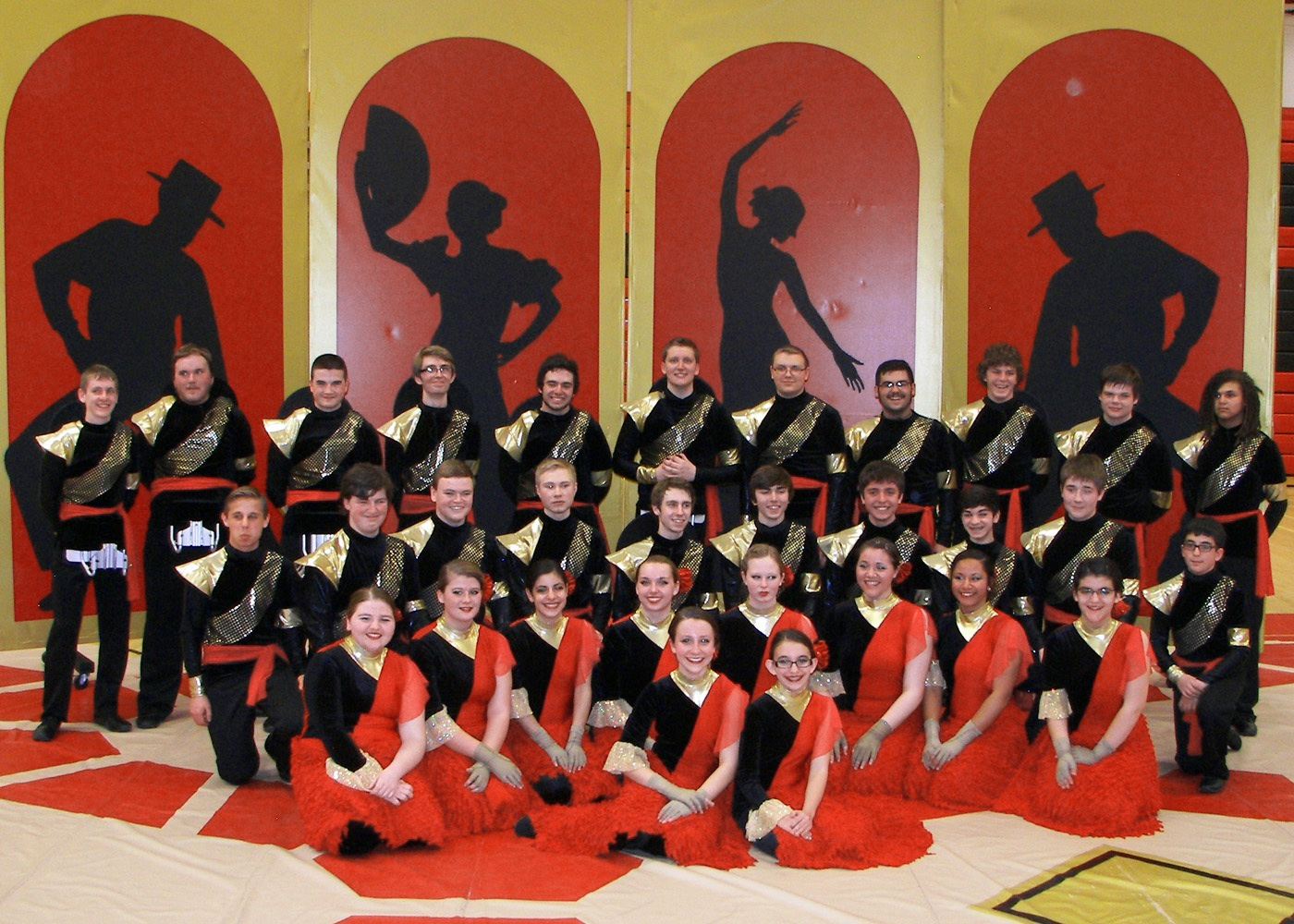 The Hilton High School Winter Drumline competed with 217 drumlines from around the world in the 2014 Percussion World Championships in Dayton, Ohio. They placed eighth.