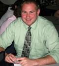 Social studies teacher Nicholas Muhlenkamp, 2014 winner of the Byron-Bergen Golden Bee Award for exemplary standards in teaching.