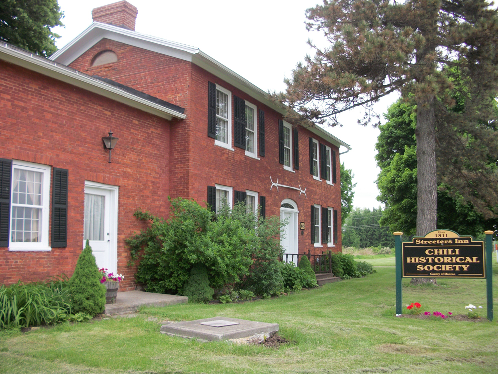 "The Chili Historical Society celebrates its 50th anniversary on Saturday, June 14 from 10 a.m. to 4 p.m. at 4145 Union Street, the historic ""Streeters Inn."" Events will be taking place throughout the day. Young and old will be able to travel into the past. Vendor's tables will be available for a small fee. The Inn will be open Sundays in July and August from 2 to 4 p.m. for tours. For information contact Priscilla Beeman, Chili Historical Society President, 594-4015, or Carole Thoms, 889-2596."