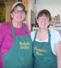A delicious friendship ... Lora Partyka and Debbie Ryan are working together to offer a catering menu at Partyka's Farm Market in Kendall.