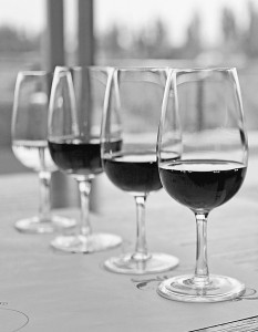 wine glasses tasting article
