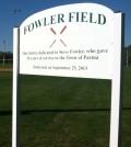 Fowler Field Field in Background