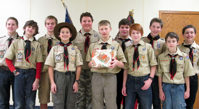 Hilton Boy Scouts toy drive