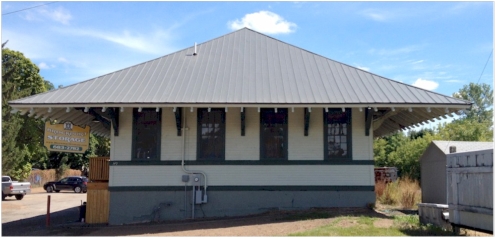 The historic Brockport depot now has a fresh look and a new purpose. Provided photo
