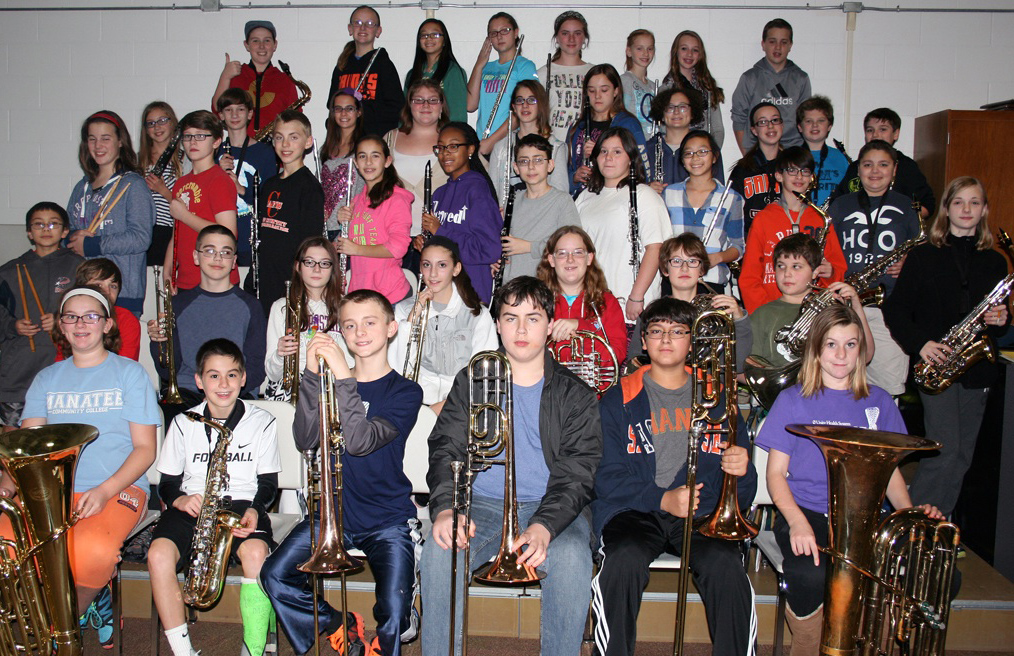 Churchville-Chili's 7th Grade Band used their holiday spirit and extra practice time to raise over $1,238 in funds to buy new shoes for underprivileged children in Central America.
