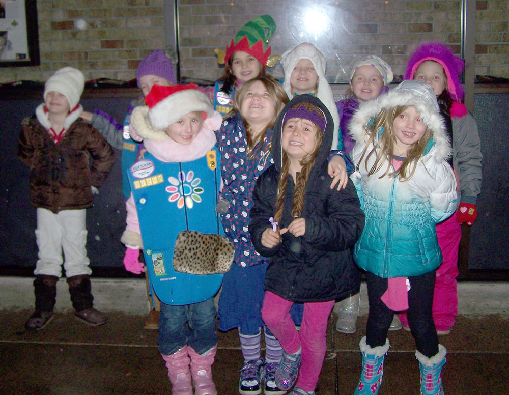girl scout bell ringers