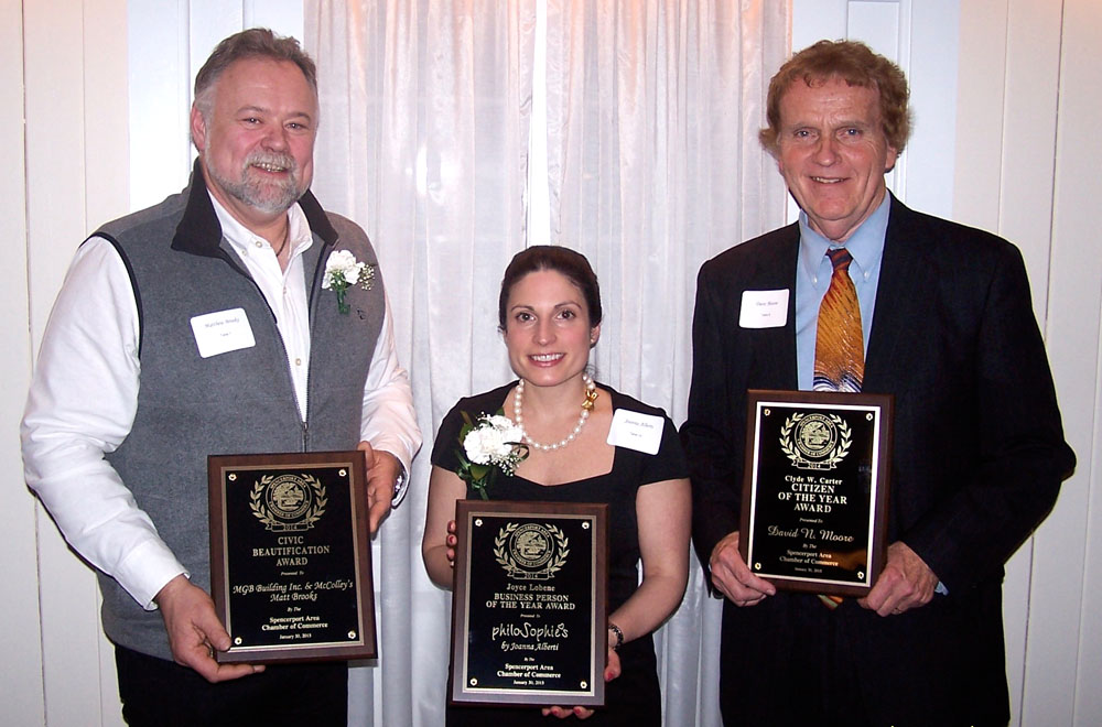 2014 Spencerport Chamber awards