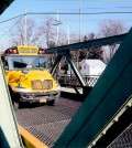 School bus weights are within the limit posted on the Union Street/Route 259 lift bridge but other bridge weight restrictions have caused reworking student pick-up routes.