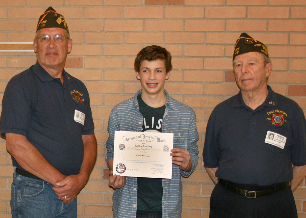 vfw patriotic audio essay competition Vfw announces patriot's pen winners, voice of democracy scholarship winners the voice of democracy is a worldwide audio-essay competition that requires entrants to write and record a three- to five-minute essay on a patriotic-based theme.