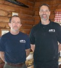 Chris Dery and Dave Porteus have operated Abe's for over 21 years. K. Gabalski photo.