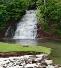 While at June Fest, take a break at the scenic Holley Falls. Photo by Rick Nicholson
