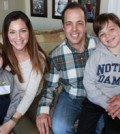 The Proia family: Joe, Amanda, seven-year-old Hudson and four-year-old Anderson. Hudson was diagnosed with Type 1 Diabetes when he was 18 months old. M. Fitzgibbon photo