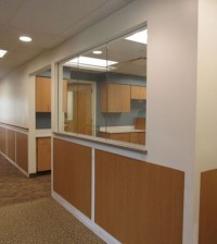 The former Lakeside Memorial Hospital nurses station on the second floor of Strong West in Brockport is an area that will now be used by staff. Brockport Medical Associates and the Wilmot Cancer Institute, Interlakes Oncology and Hematology are moving into the space and will begin seeing patients onJune 1. K. Gabalski photo