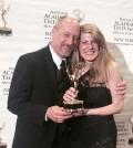 Dave McKinley at the Emmys, with wife Jillayne Lessord. Provided photo