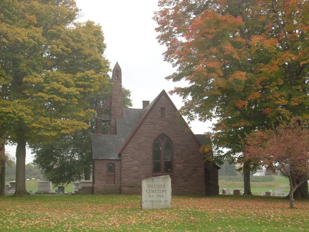 Chapel in Hillside Cemetery
