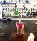 Lena Captain a 14-year-old Crossfitter!
