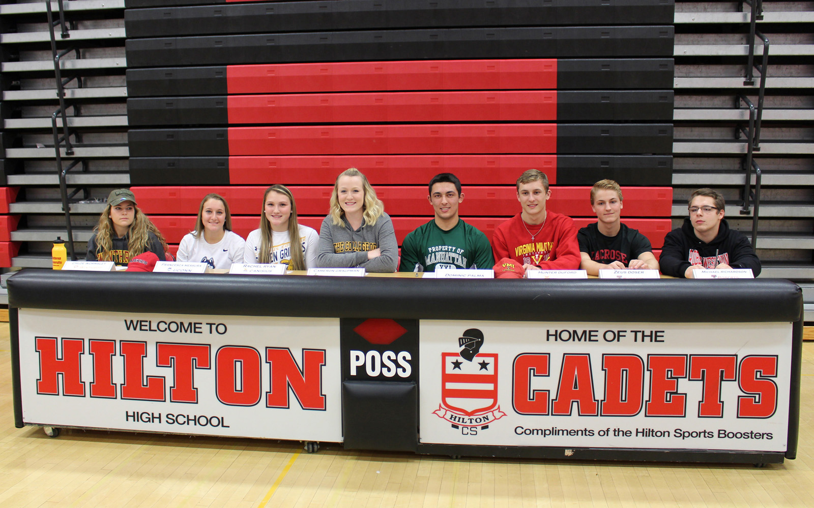 hilton cadets signing