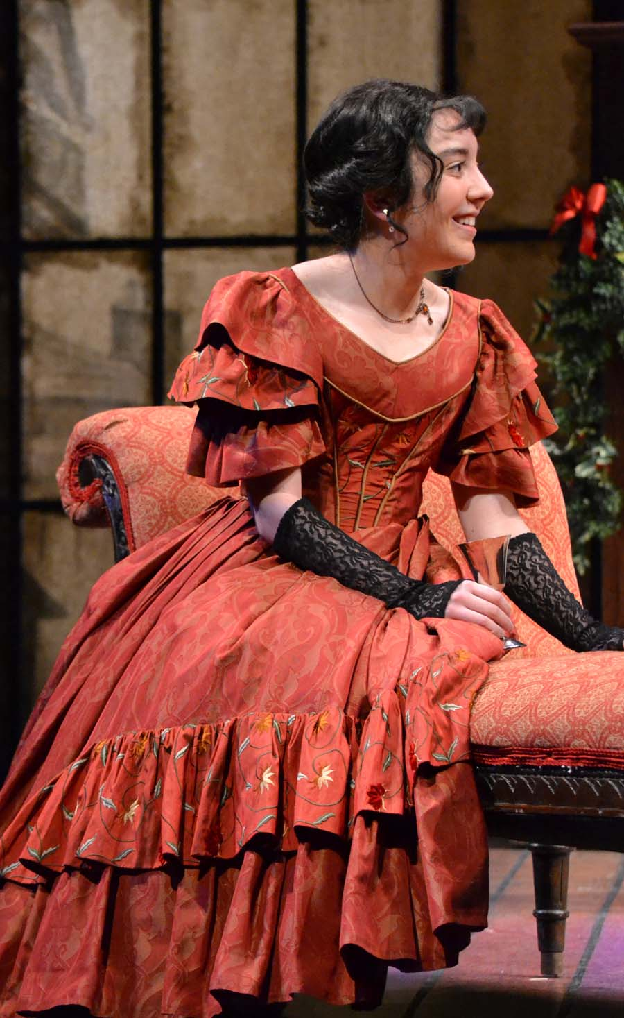 alma haddock will be performing in geva theatre centers a christmas carol now through