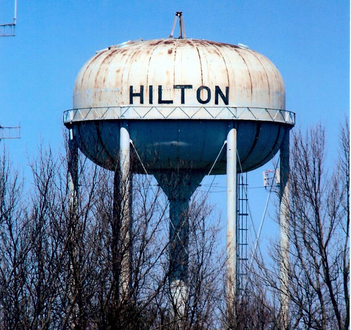 New york monroe county hilton - April 14 2016 The Hilton Water Tower Sans Antennae Awaits A Cover So
