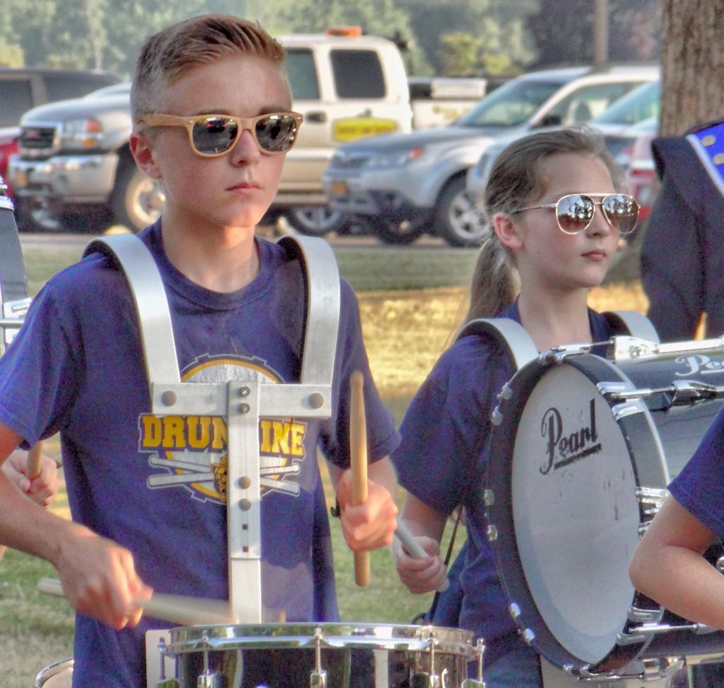 kendall parade kid drumline