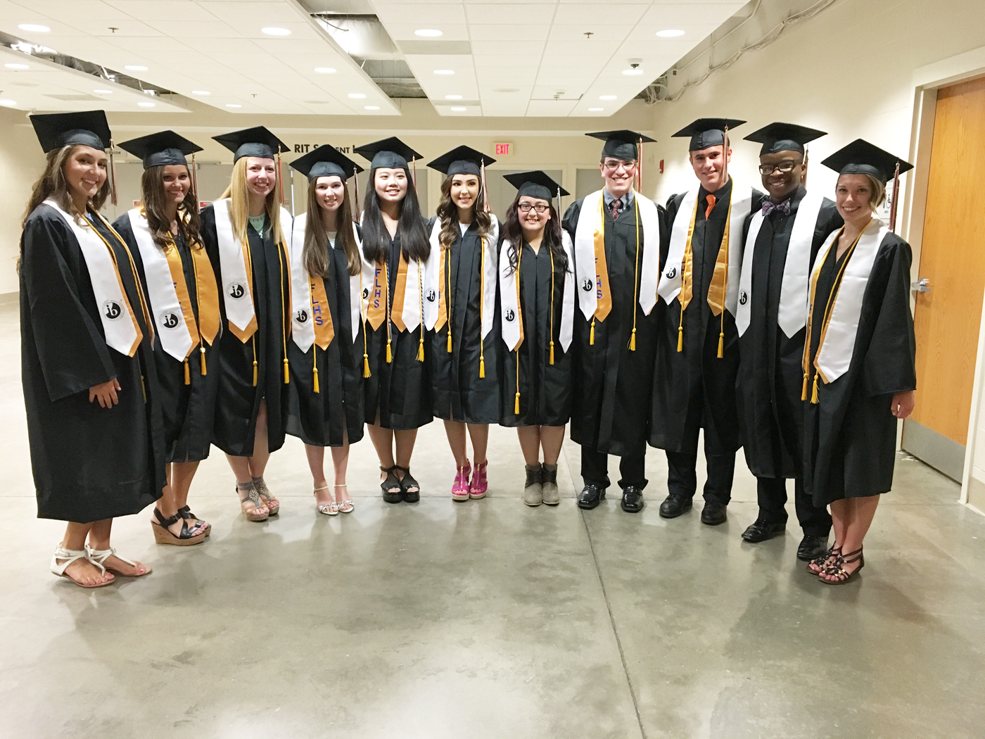 2016 Churchville-Chili IB graduates (l-r): Gabrielle Kolmer, Melissa Prewasnicak, Emily Sabo, Leanne Walker, Nicole Cammilleri, Quyen Nguyen, Andrew Nicchitta, Nicholas DiFlorio, Zachary Vaughn and Kathleen Ohman. Provided photo