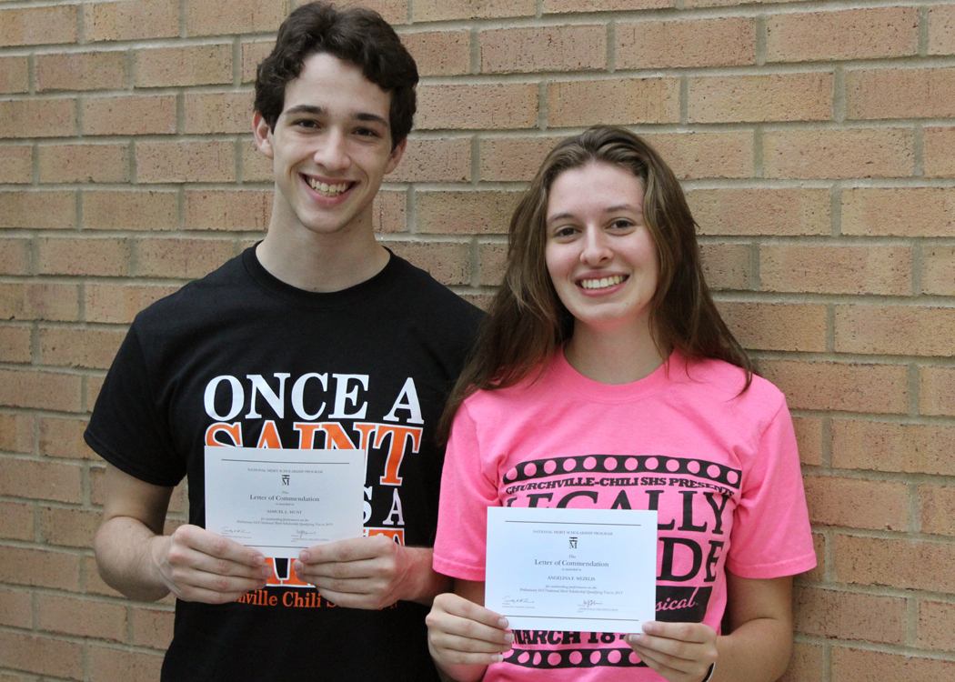 CC Seniors Recognized With National Merit Scholarship Commendations