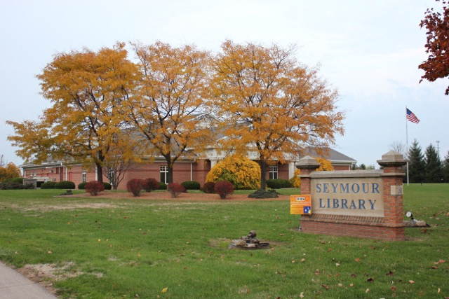 The Seymour Library in Brockport. Photo by Maggie Fitzgibbon