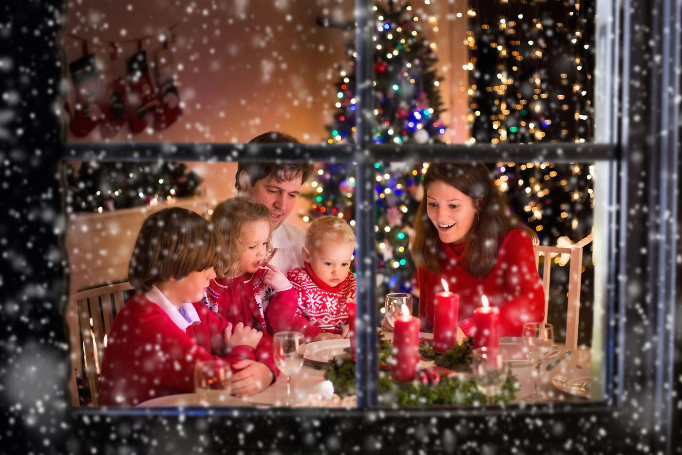 away-christmas-window