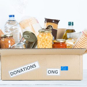 47552967 - supportive housing or food donation for poor