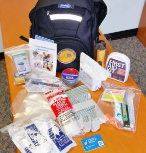 Participants of the Citizen Preparedness Corps Training Program will receive a free NYS Disaster Preparedness kit. Provided photo