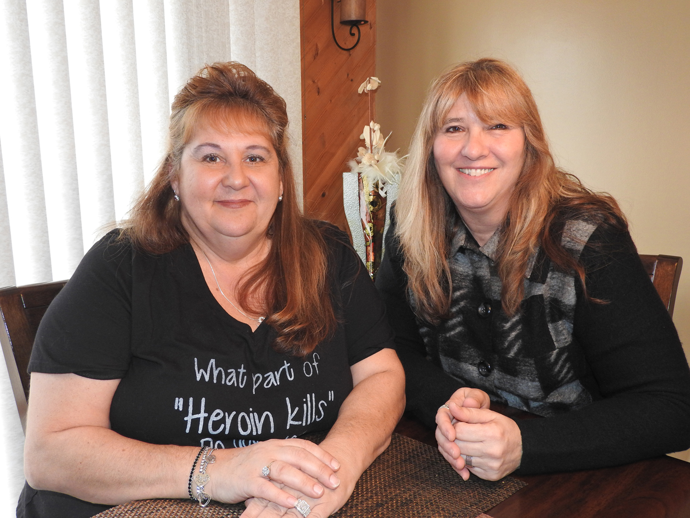 Maryann Marshall (left) and Lorie Fishell (right) are the founders of Tranquility of Hope. Photo by Karen Fien