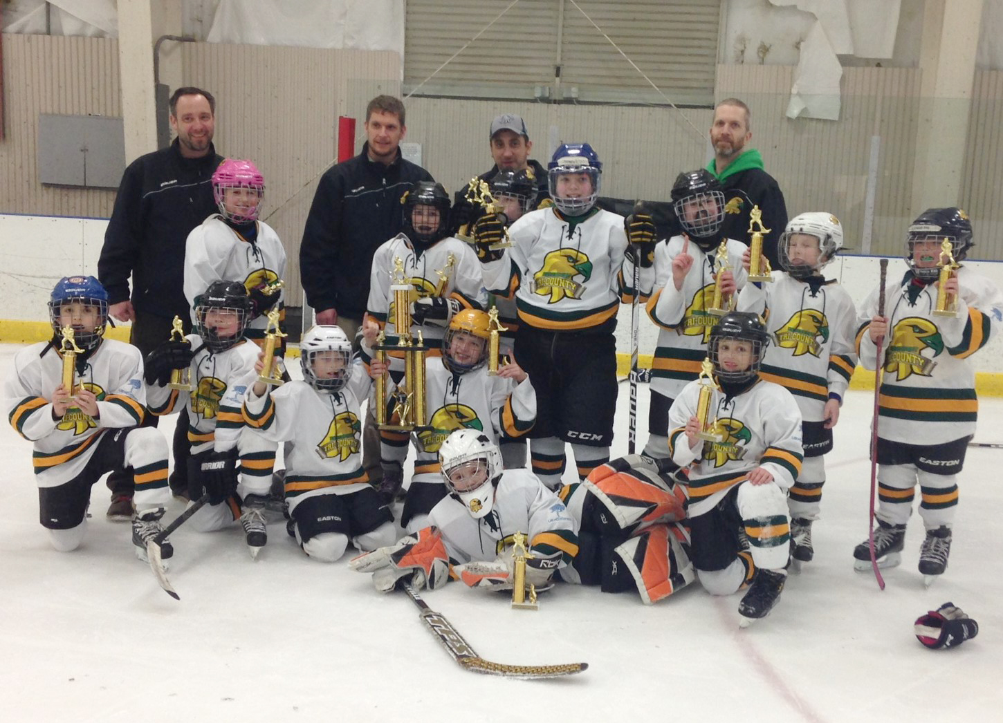 Tri-County Youth Hockey Squirts B Team. Provided photo