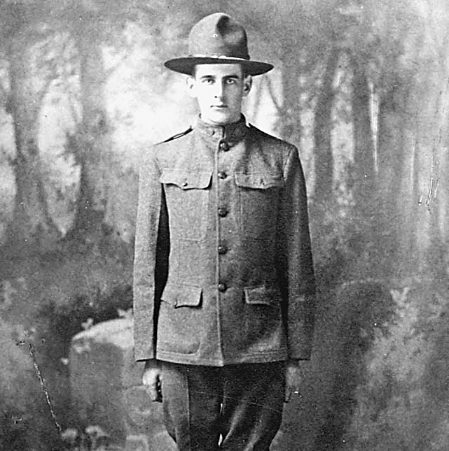 Glen Fishbaugh was Hilton's first casualty in World War I. Provided photo