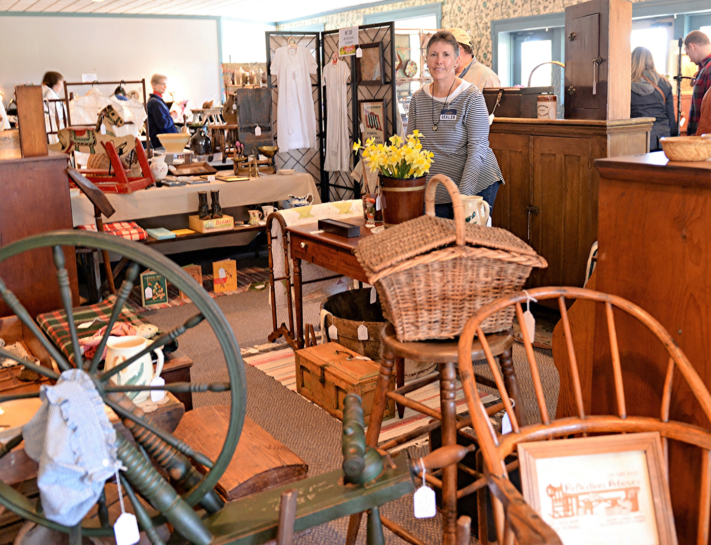 A wide selection of fine antiques is available at Genesee Country Village & Museum's Antique Show & Sale on April 22.  Provided photo