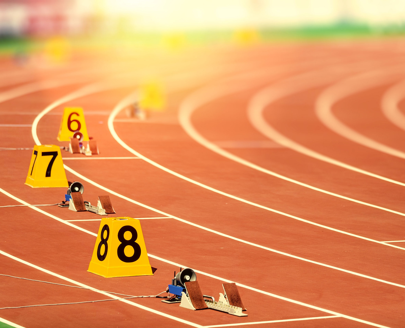 48780333 - starting block in track and field