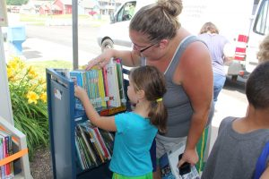 The Summer Book Mobile will return on July 20, August 3, August 17 and August 24 (returns only). Provided photo
