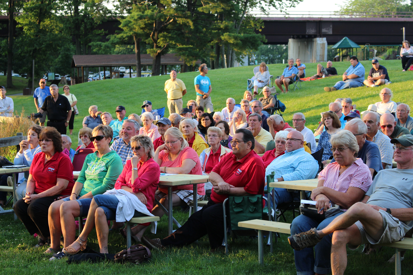 Over 200 attendees showed up for the meeting. Photo by Stephen Herbeck