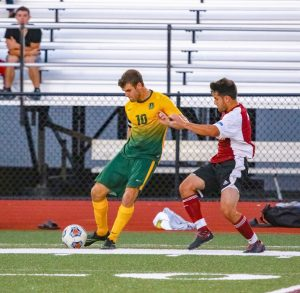 Justin Mercer (#10), Brockport Men's Soccer.