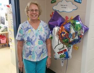 Barbara Richardson, a kindergarten teacher at Northwood Elementary School, was named this year's Hilton Central School District Teacher of the Year. Provided photo