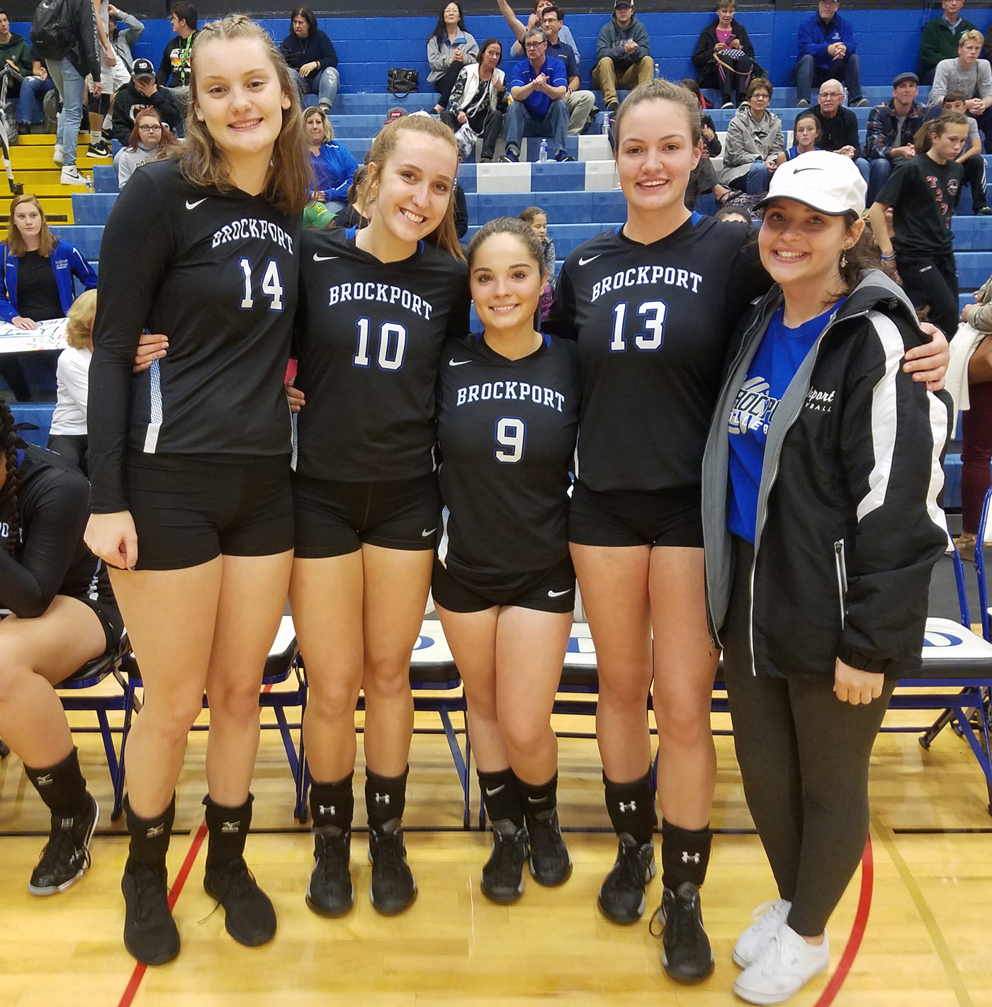 Left to right, Elizabeth Schultheis, Julia Pacitto, Kenzie Carter, Kate Kenward and Morgan Wright. Provided photo
