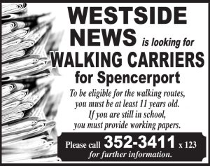 Westside News carriers - Spenc 3x3