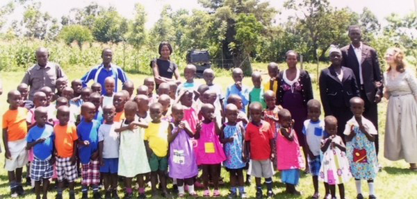 Primary School Children with dedicated teachers - Bungoma, Western Kenya. Provided photo