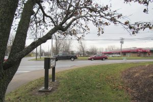 Developers are seeking to re-zone two lots - one on Route 19 and one behind on Crestview Drive in the Town of Sweden - from residential to commercial ... for a proposed professional office building. K. Gabalski photo