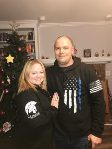 Eddie Richardson with his wife, Amanda. They have three children: sons Jonah, age 20 and Caleb, age 19, and daughter, Jordan, age 13. Provided photo